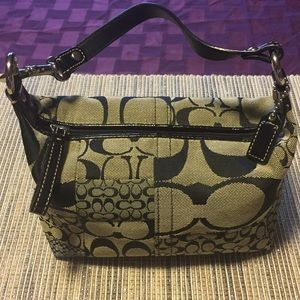 Coach Signature Jacquard Small Handbag